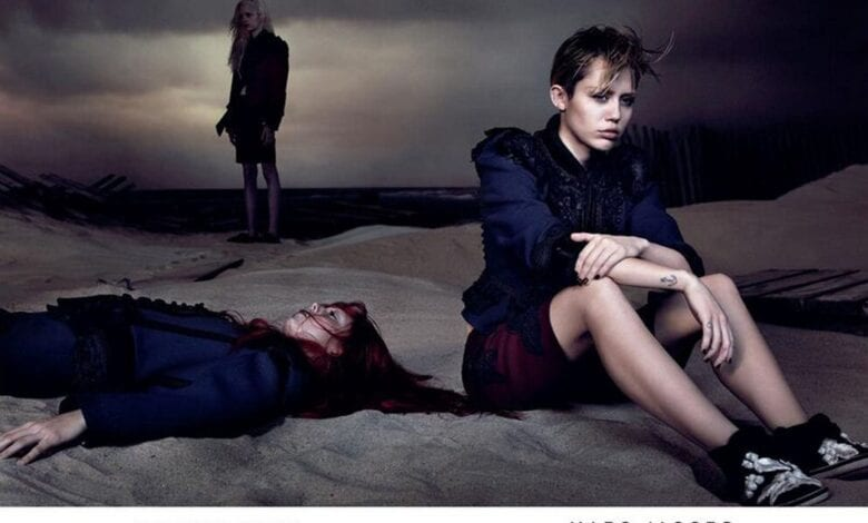 Photo of Miley Cyrus $7 Million Marc Jacobs Ad Campaign