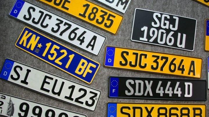 Celebrity Number Plates