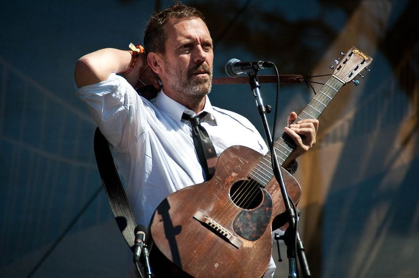Hugh Laurie guitarist