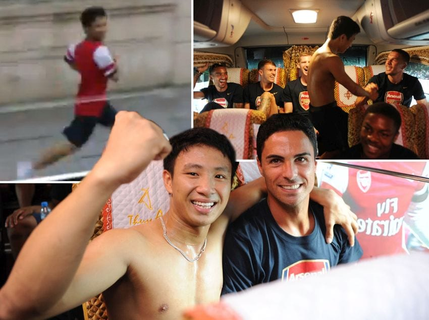 The Arsenal Football Team