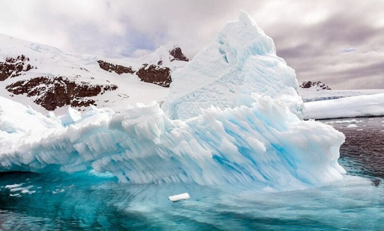 Photo of Mysterious Objects in Antarctica