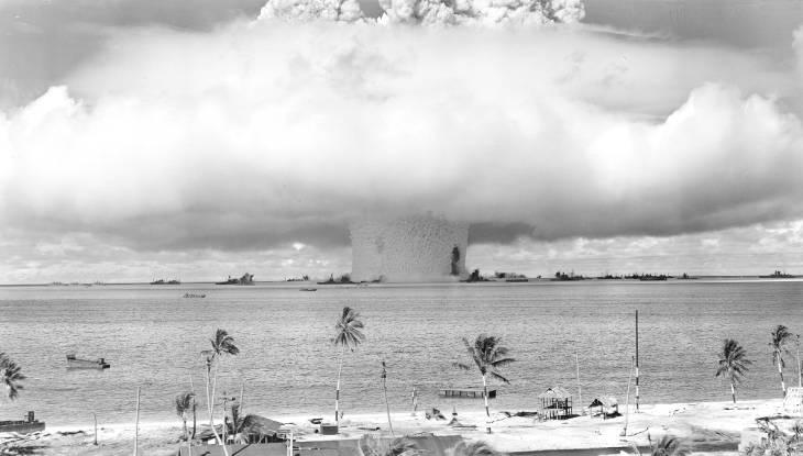 54 atoll bikini event