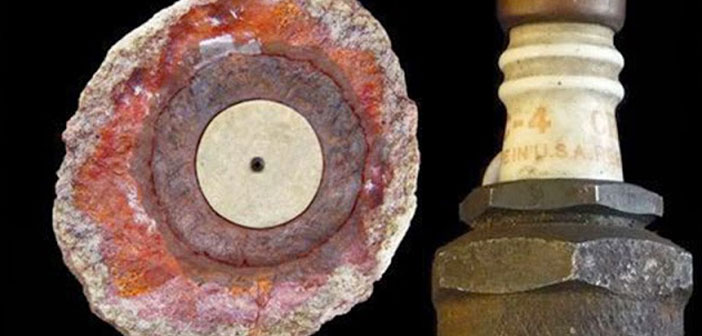 Photo of 500,000 Year-Old Spark Plug Found in Rock: The Coso Artifact