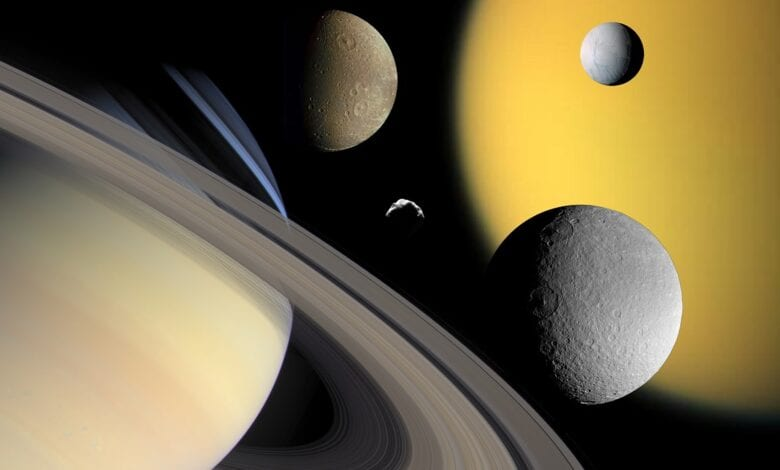Photo of NASA: Possible New Moon Forming Around Saturn