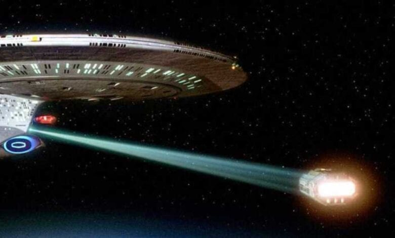Photo of NASA Working on Star Trek Tractor Beam