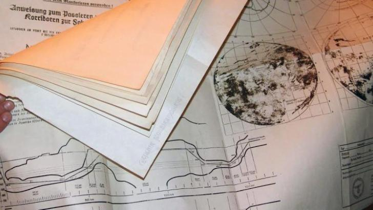 Photo of Nazi Maps and Documents to Agartha Confirm the Hollow Earth Accounts