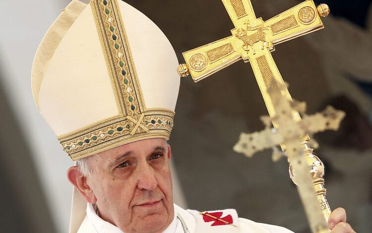 Photo of Why Is The Pope's Mitre Shaped Like A Fish?