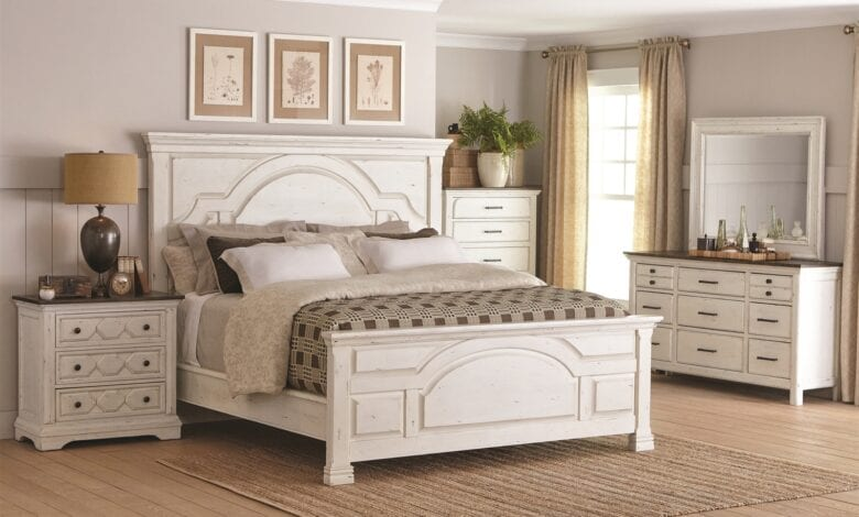 Photo of Give your Bedroom a Cozy and Warm Touch with Farmhouse Style Interior in 2020